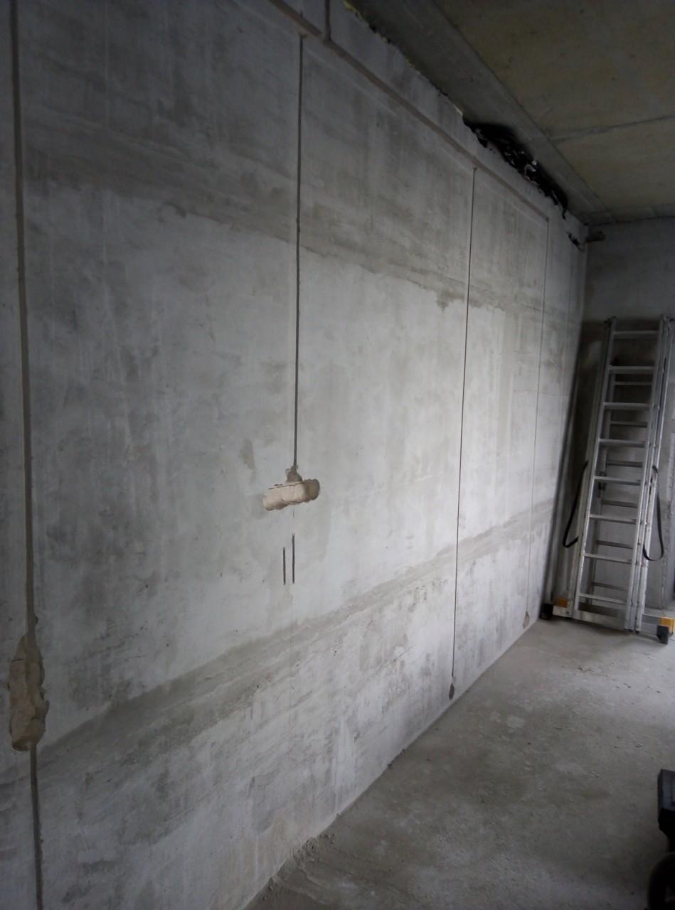 Монтаж черновой проводки в строящемся доме в Колодищах.